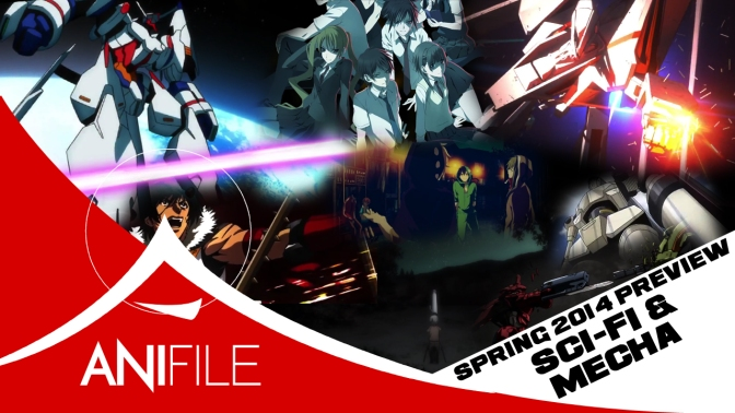 Spring 2014: Sci-Fi & Mecha