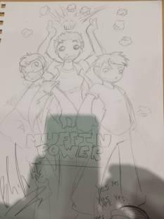 MUFFIN POWER [L>R: GeneralIvan, Me, KaiserNeko]