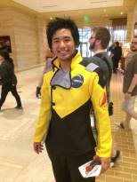 I found an Akito cosplayer! YAY!
