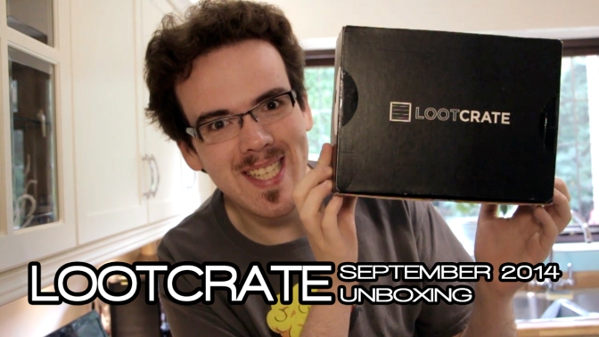 Lootcrate: September 2014 – GALACTIC EDITION