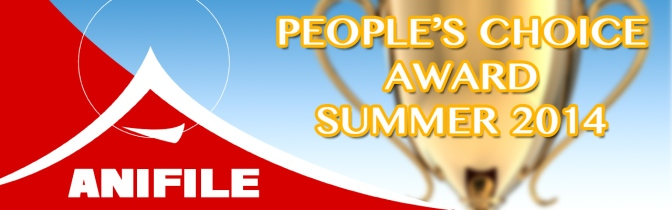 Anifile's People Choice Award for Summer 2014