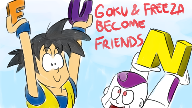 Bad Fanfiction Theatre: goku nd freeza becum frinds