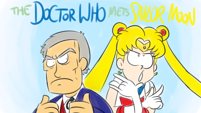Bad Fanfiction Theatre: The Doctor Who mets Sailor Moon